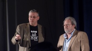 Kenny Myers and Charles Porlier at the year's UMAe