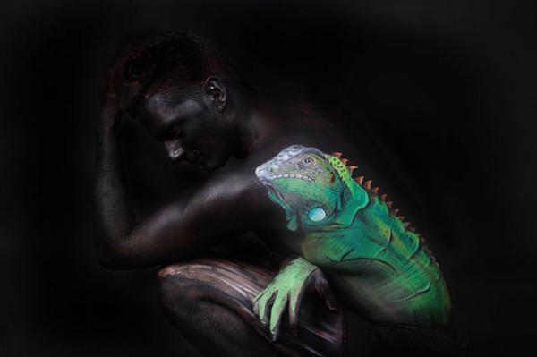 Gesine Marwedel - Lizard