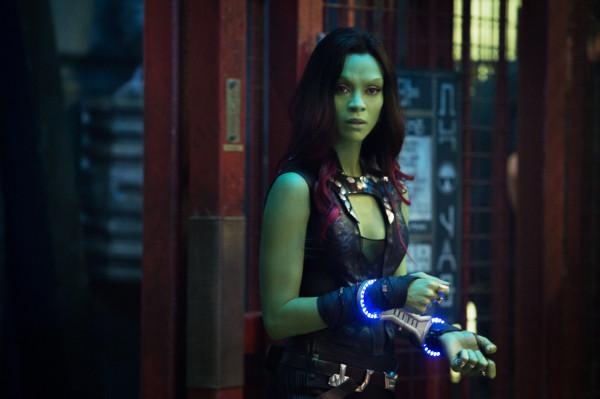 Marvel's Guardians Of The Galaxy Gamora (Zoe Saldana) Ph: Jay Maidment ©Marvel 2014