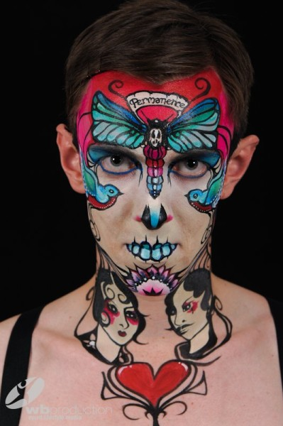 Our special mention goes to Brierley Thorpe from the UK, who managed to come 14th in Facepainting and 25th in Brush/Sponge