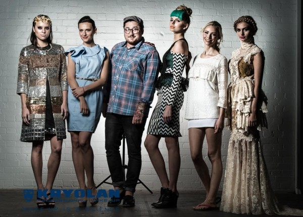 Joey Bevan with models