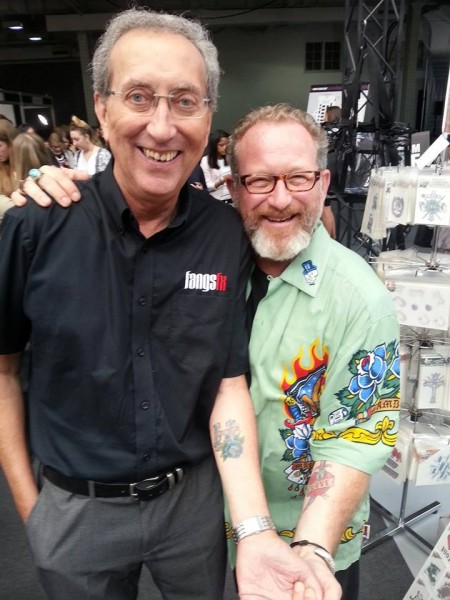 Colin Lyons with Daniel Parker at this year's IMATS