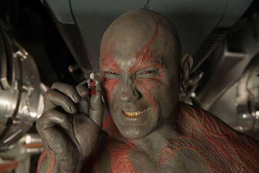 Dave Barista as Drax in Guardians of the Galaxy