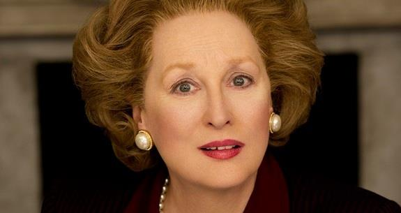 Meryl Streep as Mrs Thatcher in The Iron Lady
