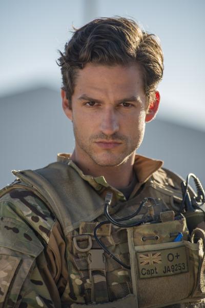 Captain James (BEN ALDRIDGE) - Pic: BBC - Photographer: Coco Van Oppens