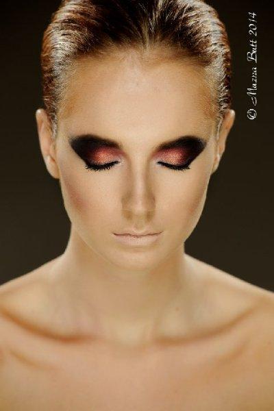 Make up by Armand Beasley Photographer Muzna Butt