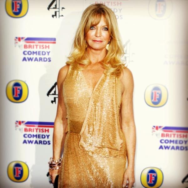 Goldie Hawn, make up by Armand Beasley