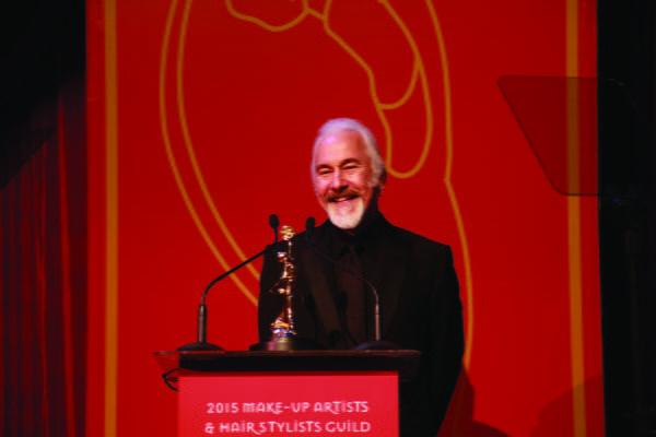 Rick Baker was awarded the Make-Up Artist Lifetime Achievement Award