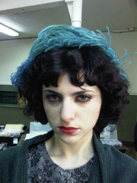 Broadwalk Empire '20s make-up