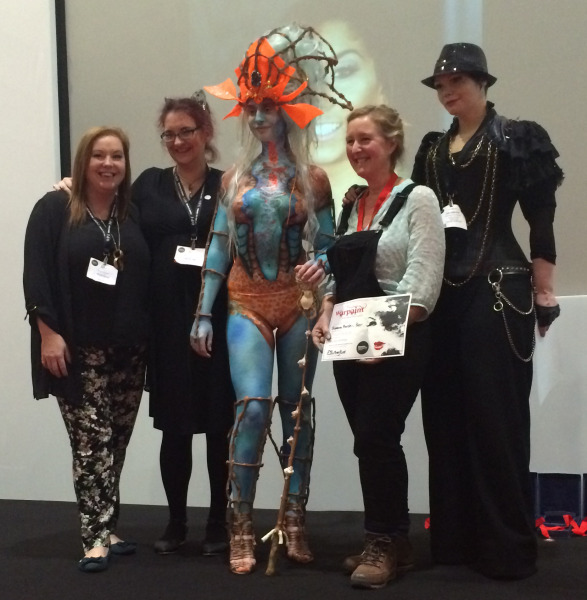 Suzanna Forrister-Beer 3rd Place Body Painting