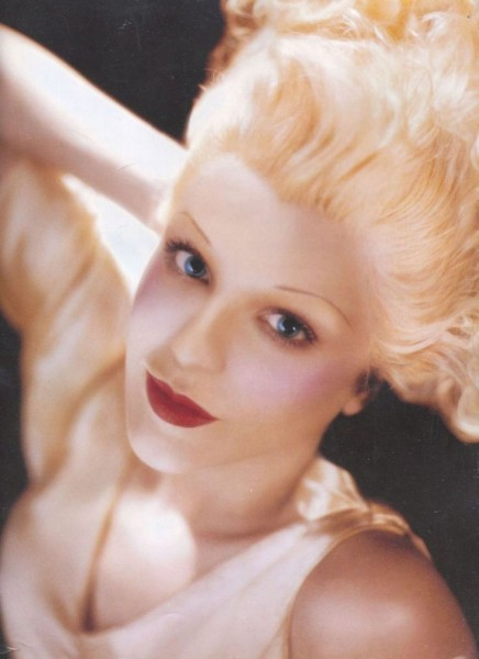Courtney Love as Jean Harlow by Kevyn Aucoin