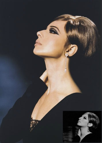 Isabella Rossellini as Barbra Streisand by Kevyn Aucoin