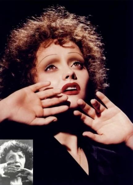 Christina Ricci as Edith Piaf by Kevyn Aucoin