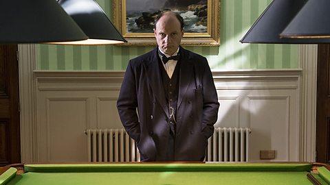 Nick Asbury as Churchill