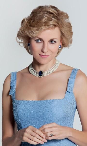Naomi Watts as Diana, Princess of Wales