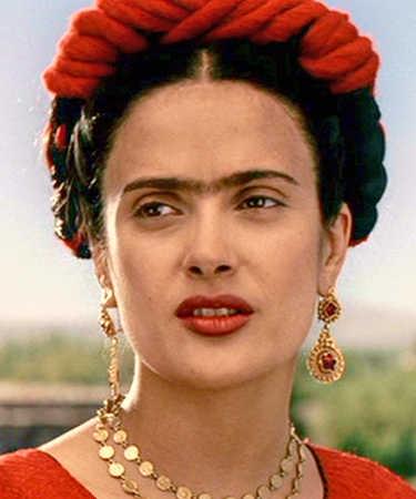 Salma Hayek as Frieda Kahlo