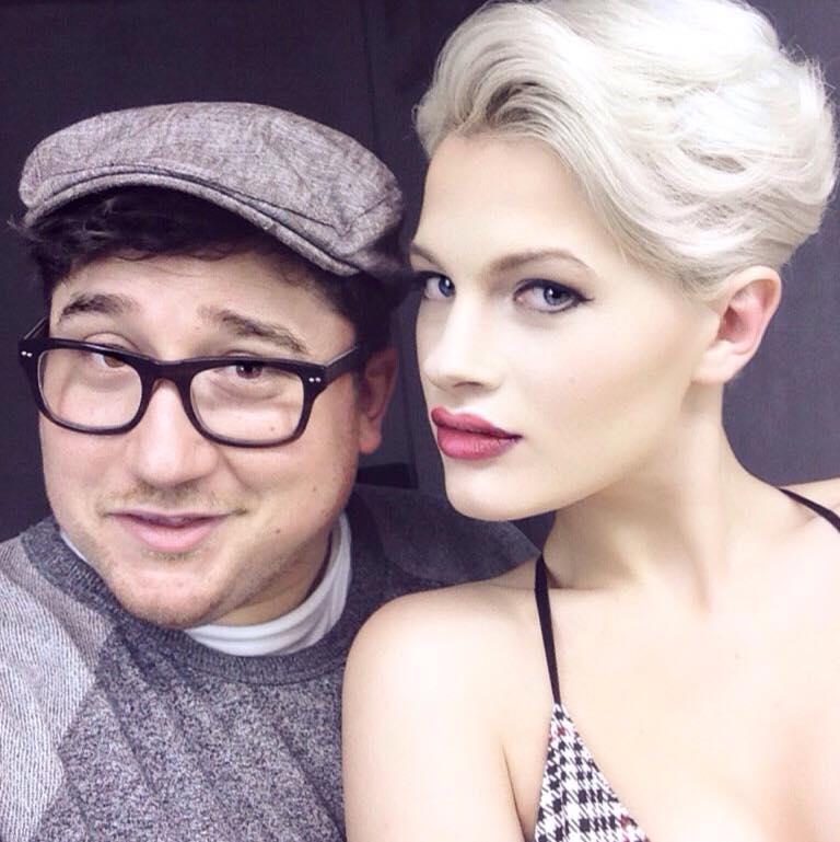 Joey with the stunning Chloe Jasmine