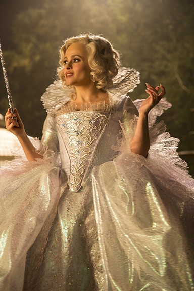 Helena Bonham Carter is the Fairy Godmother in  Disney's live-action feature inspired by the classic fairy tale, CINDERELLA, directed by Kenneth Branagh.