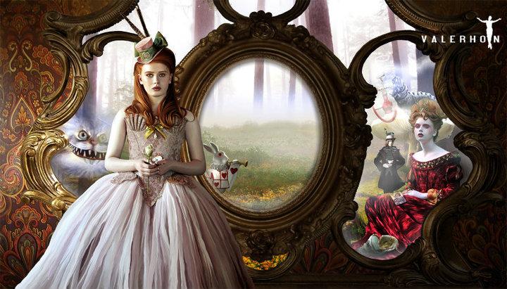Alice in Wonderland inspired shoot