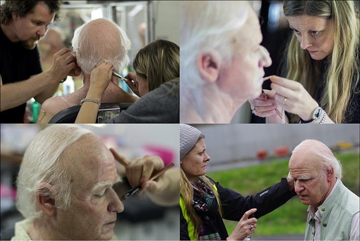 100 year old man makeup