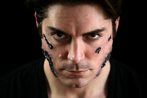 Cyborg-Face