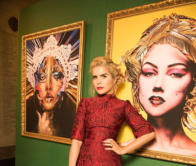 Paloma Faith attends the launch of The Art of Makeup