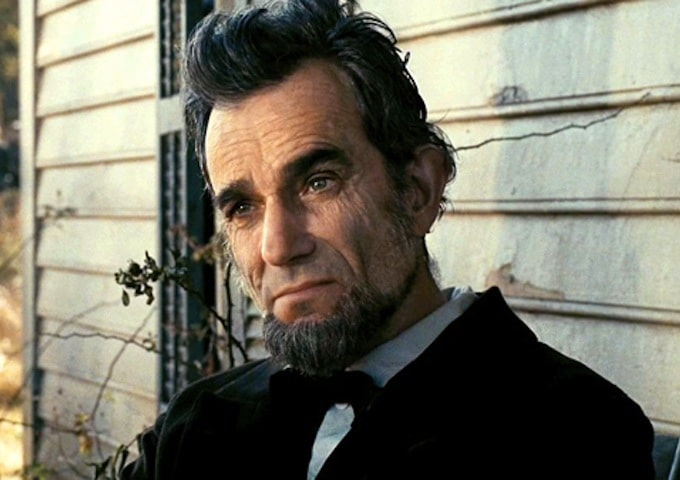 Abraham Lincoln, played by Daniel Day-Lewis.  Image Source