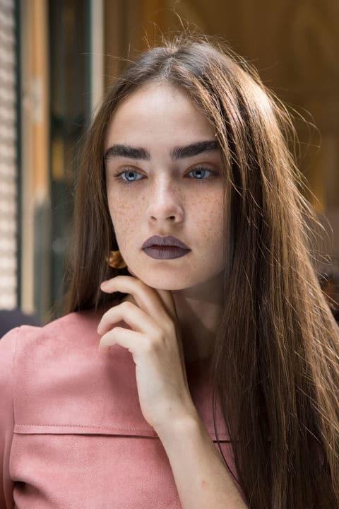 Acne Studios SS17 - Make-up by Aaron de Mey