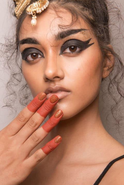 Ashish SS17 - Make-up by