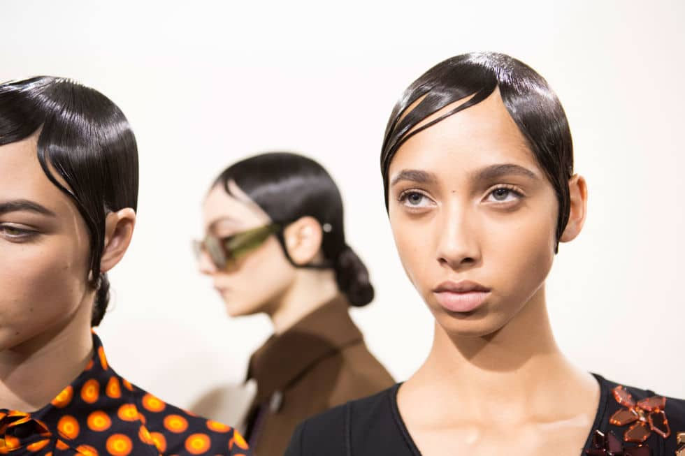 Givenchy SS17 - Make-up by