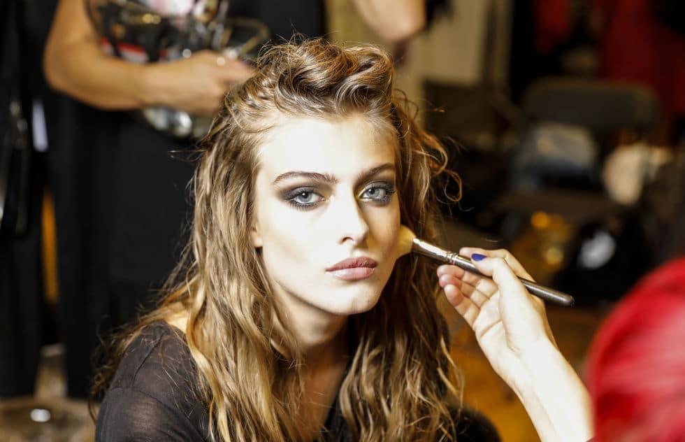 Julian McDonald SS17 - Make-up by Val Garland