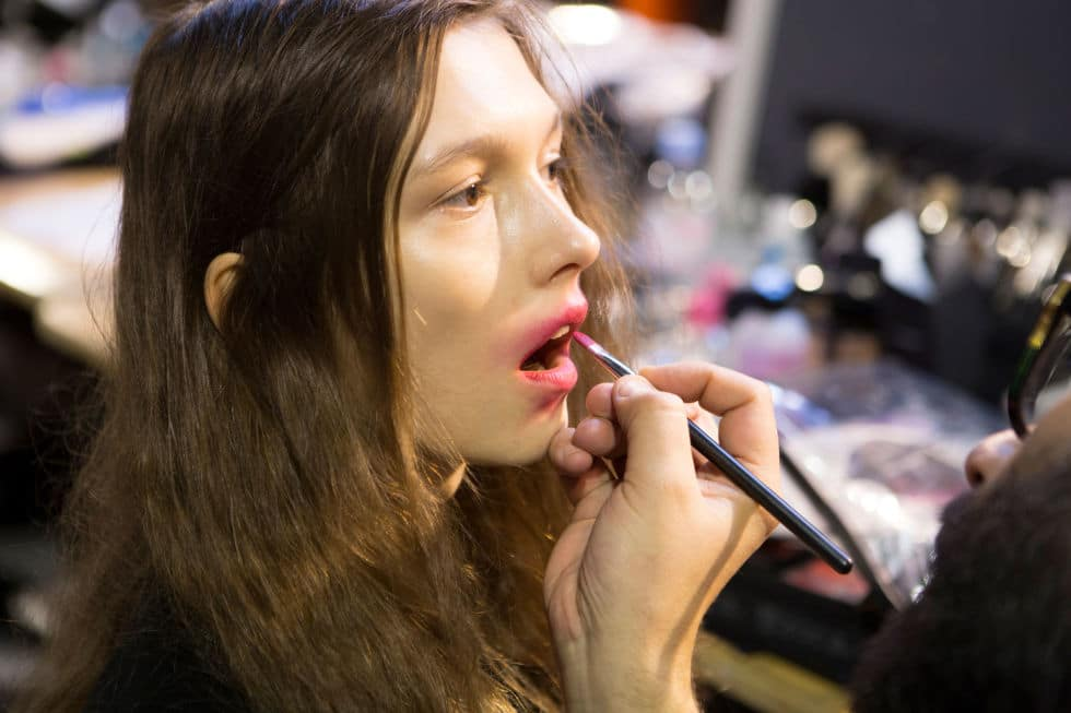 Vivienne Westwood SS17 - Make-up by Val Garland