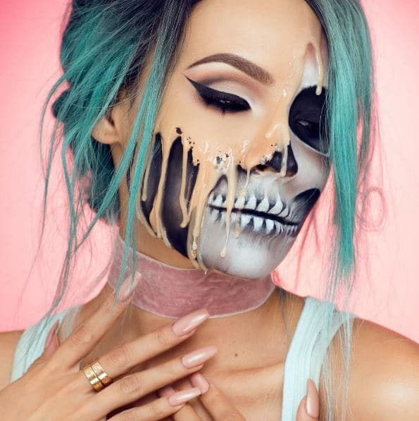 We've seen a few melted faces but this is one of our favourites, by @desiperkins