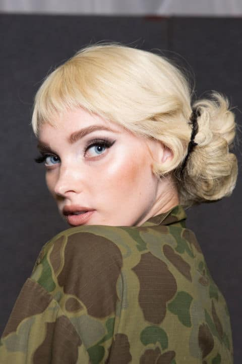 Moschino SS17 - Make-up by