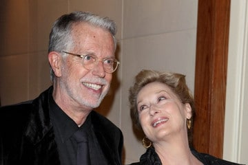 J Roy Helland with Meryl Streep