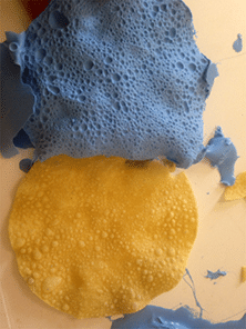 Moulding poppadoms