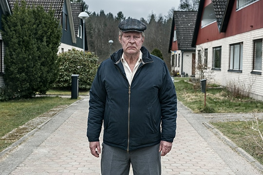 Rolf Lassgård in A Man called Ove