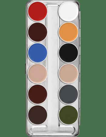 Kryolan Supra Colour Palette