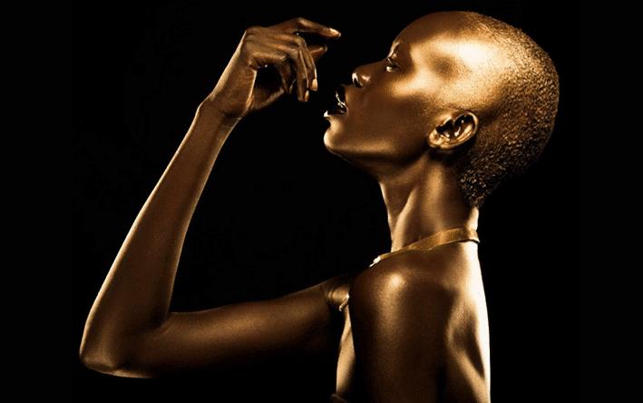 'Golden Goddess' - model: Mari Agory - photographer: Lindsay Adler - stylist: LSC - make-up: Griselle Rosario - Idol Magazine 2014
