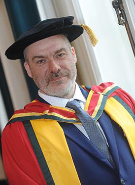 Neill Gorton Doctorate