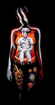 Sanatan body paint