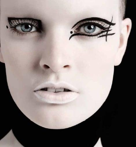 Image Source - Make-up by Lisa Eldridge for Vogue Italia