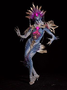 World Award Special Effects Bodypainting 2nd Place - Olga Popova