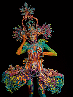 World Award Special Effects Bodypainting 3rd Place