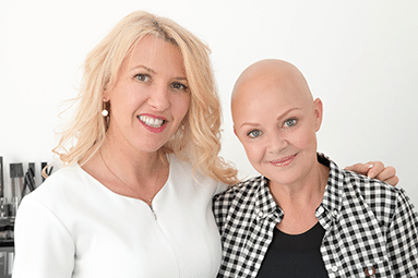 Karen with Gail Porter