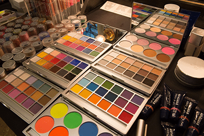 Kryolan Makeup table 5