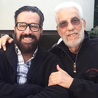 Maurice Stein with Michael DeVellis