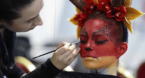 Dublin makeup